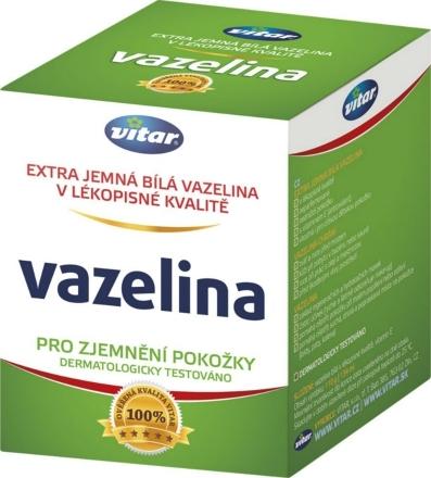 Vitar Vazelina extra jemná biela 110g