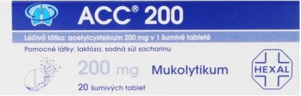 ACC 200mg 20ks