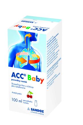 ACC BABY sol por 1x100 ml