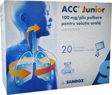 ACC JUNIOR HOTDRINK plo por 20x200 mg