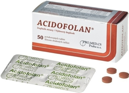 Acidofolan tbl.50