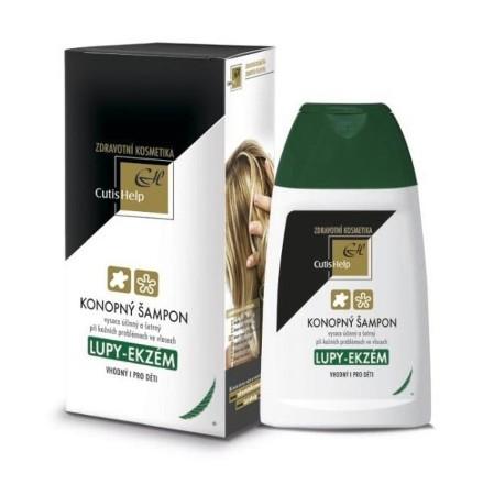 CutisHelp Konopný šampón LUPINY-EKZÉM 200ml