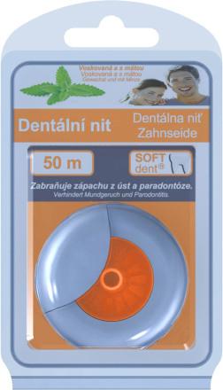 Dentálna niť SOFTdent s mätou 50m 1ks