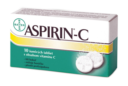 Aspirin-C 10 tabliet