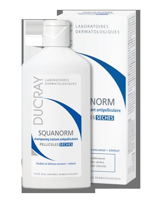 DUCRAY Squanorm šampón proti suchým lupinám 200 ml