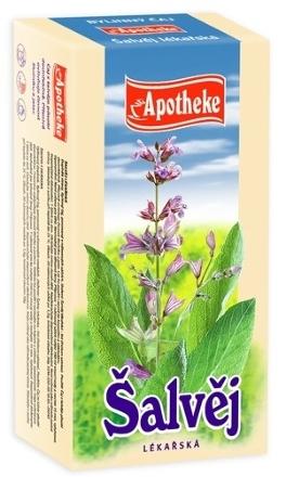 Apotheke Šalvia lekárska čaj 20x2g n.s.