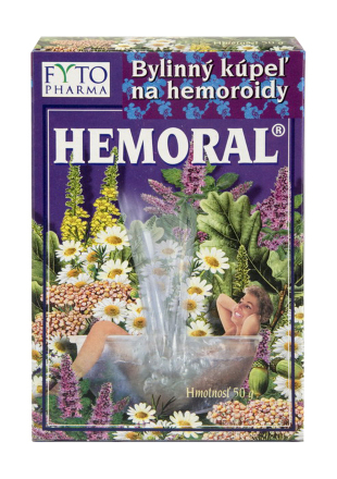 Hemoral Bylinná koupel na hemoroidy 50g