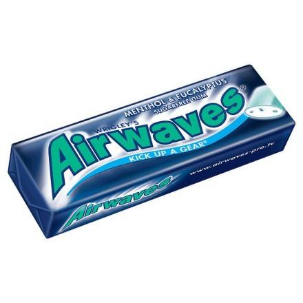 AIRWAVES Žuvačky Mentol a Eukalyptus - dražé 10 kusov