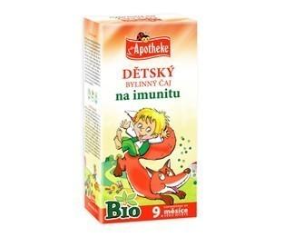 Apotheke Bio Detský bylinný čaj na imunitu 20x1.5g n.s.