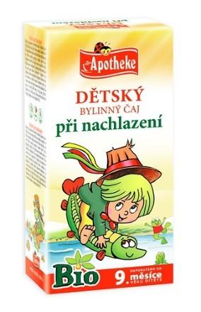 Apotheke Bio Detský čaj pri nachladnutí 20x1.5g n.s.
