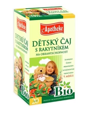 Apotheke Bio Selection Detský čaj s rakytníkom 20x1,5g n.s.