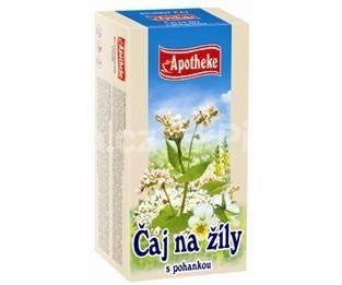 Apotheke bylinný čaj na žily s pohánkou 20x1.5g n.s.
