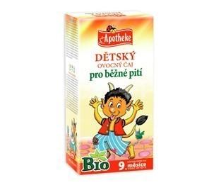 Apotheke Detský čaj BIO ovocný 20x2g