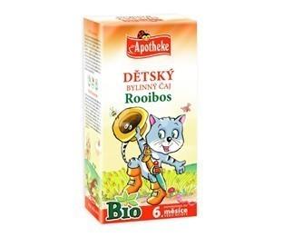 Apotheke Detský čaj BIO rooibos bežné pitie 20x1.5g