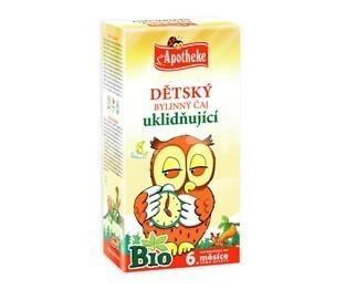 Apotheke Detský čaj BIO ukľudňujúci 20x1.5g n.s.