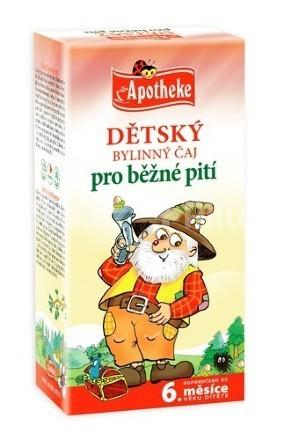 Apotheke Detský čaj bylinný pre bežné pitie 20x1.5g