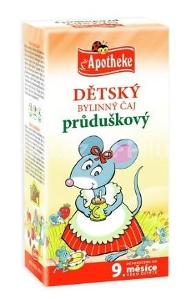 Apotheke Detský čaj prieduškový 20x1.5g n.s.