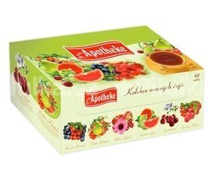 Apotheke Kolekcia ovocných čajov 48 n.s.