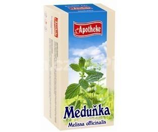 Apotheke Medovka lekárska čaj 20x1.5g n.s.