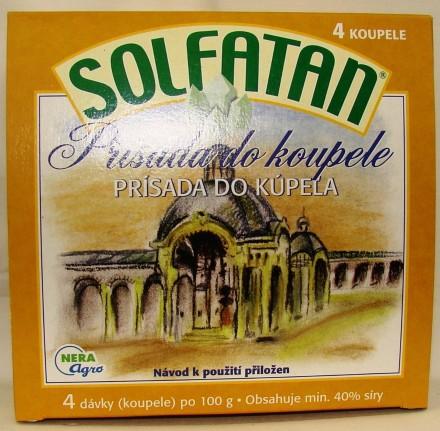 Solfatan prísada do kúpeľa 4x 100g