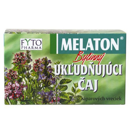 Melaton Bylinný ukludňujúci čaj 20x1.5g Fytopharma