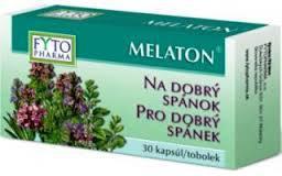 Melaton kapsuly pre dobrý spánok tob.30 Fytopharma