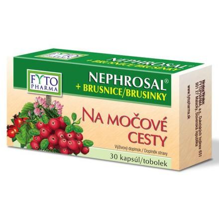 Nephrosal+brusnice na moč.cesty Fytopharma kps.30