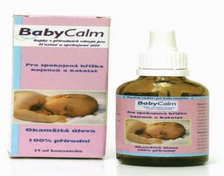 BabyCalm doplnok stravy 15ml koncentrátu