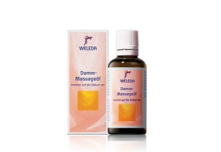 WELEDA Olej na masáž hrádze 50 ml