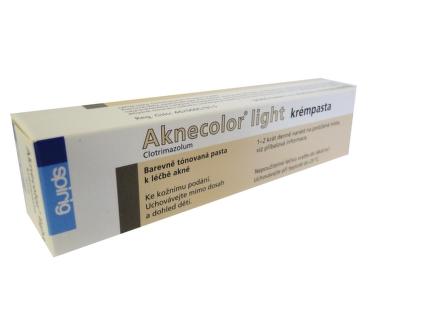 AKNECOLOR LIGHT CRM PST 30GM