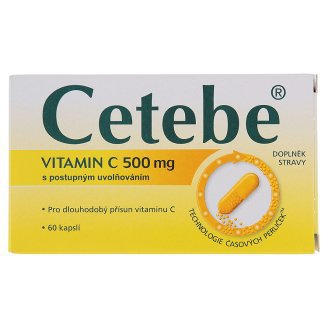 CETEBE CPS 60X500MG