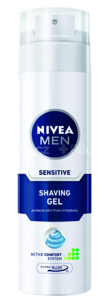 NIVEA GÉL NA HOL.SENSITIVE 200ML