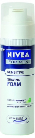 NIVEA PENA NA HOL. SENSITIV 200ML