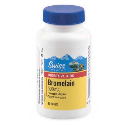 SWISS Bromelain 500mg 60tbl