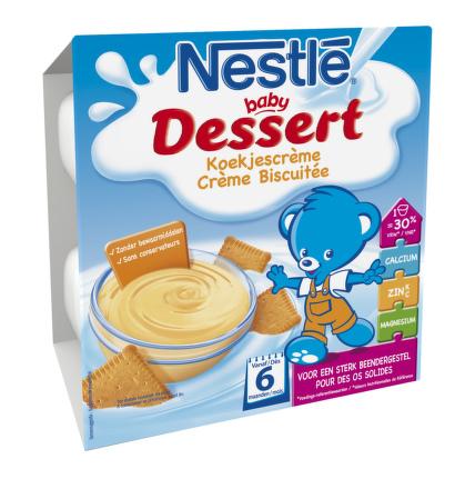 NESTLÉ Baby Dessert sušienky 4x100g