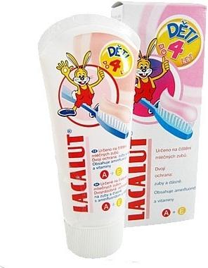 Lacalut detská zubná pasta 0-4 50ml