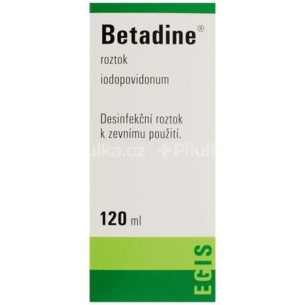 BETADINE LIQ 1X120ML