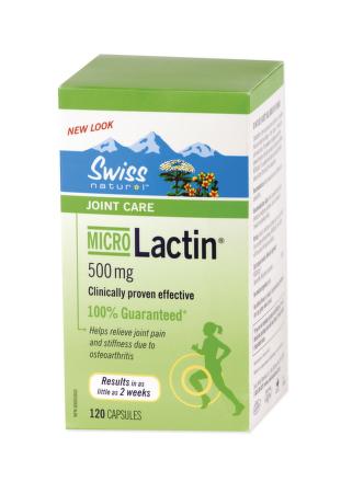 SWISS MicroLactin 500mg 120cps
