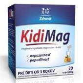ZDROVIT Kidimag (od 3 rokov) 20 vrecúšok