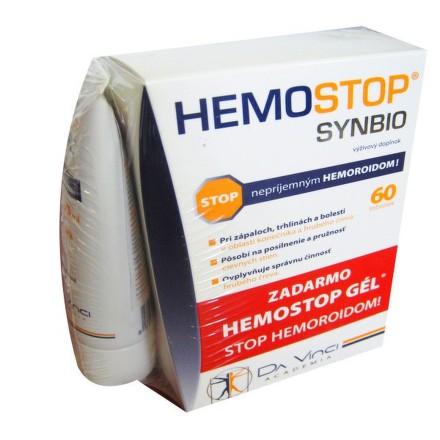 Simply You Pharmaceuticals Hemostop Synbio - Da Vinci 60+30tbl+gél