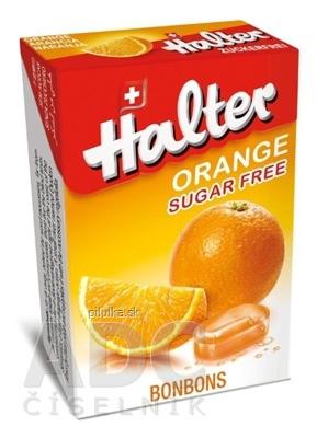 HALTER cukríky pomaranč 40g