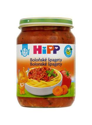 HiPP BIO Špagety v bolonskej omáčke 250g