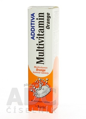 Additiva multivitamín Orange eff.  20 ks