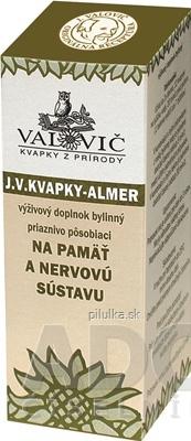 JV KVAPKY - ALMER- PAMAT 50ML