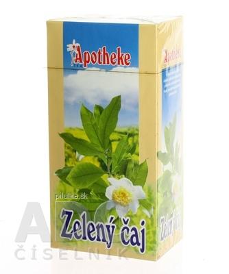 Apotheke Zelený čaj  20x1,5 g