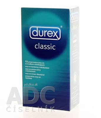 DUREX KONDOM CLASSIC 12KS*