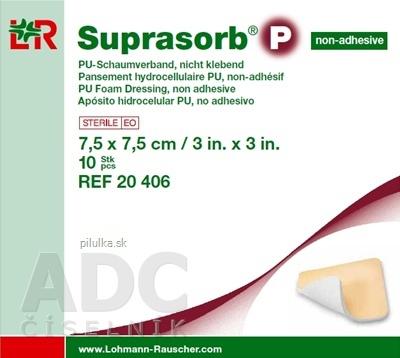 Lohmann & Rauscher GmbH & Co. KG Suprasorb P nelepivý 7,5x7,5 10ks