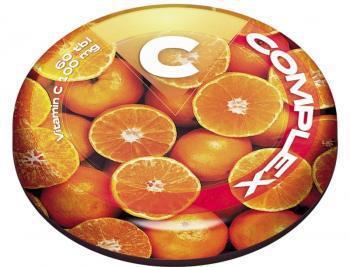 Revital C COMPLEX mini pastilky s príchuťou pomaranča 60 ks