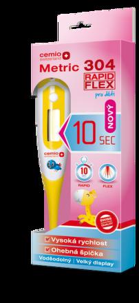 Digitálny teplomer Cemio Metric 304 Rapid Flex pre deti