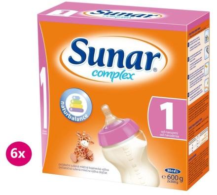 Sunar Complex 1 6x600g